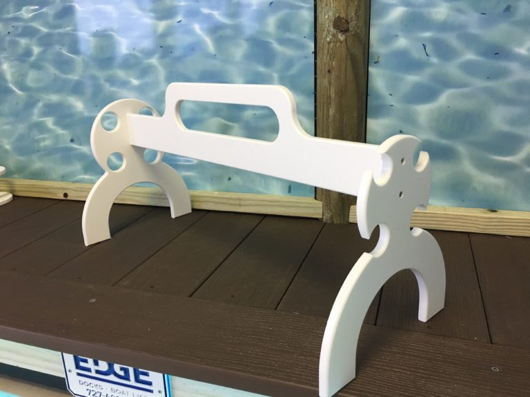 White rod carrier