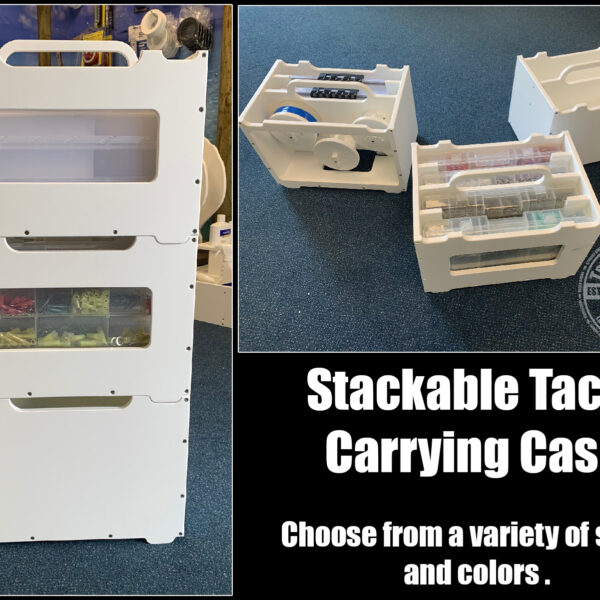 Stackable Tackle Carrying Case