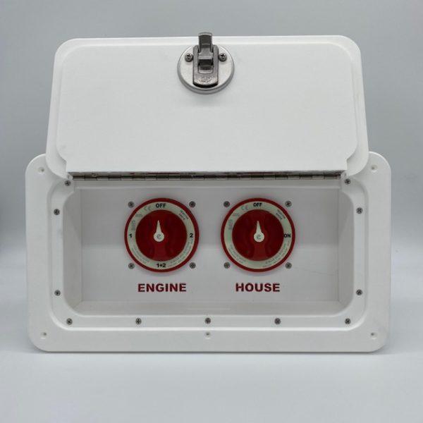 Double Battery box