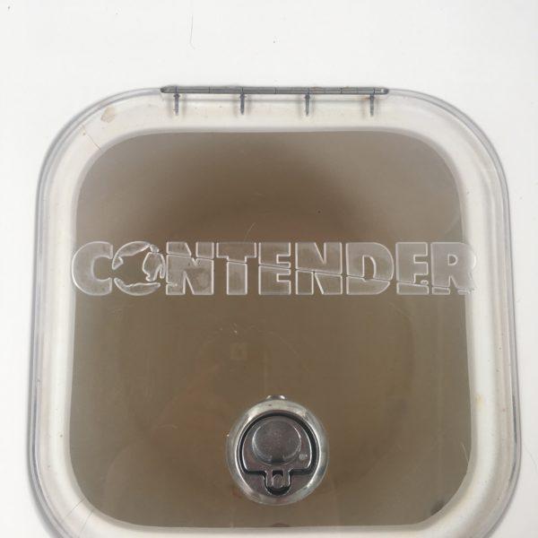 Contender 21 Open/23 Open Livewell Lid, Contender 25 Open Live Well Lid, Contender 27 T 2007 Live Well Lid, Contender 31 Open Live Well Lid, Contender 33 T 2008 Live Well Lid ,Contender 25 Bay Livewell Lid, Contender 25T Livewell Lid, Contender 28S/28T Livewell Lid, Contender 30T/ST 32T/ST, 35T/ST, 39T/ST, Contender Baitwell Lid
