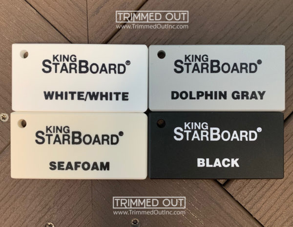 Trimmed Out Inc King Starboard Color Options