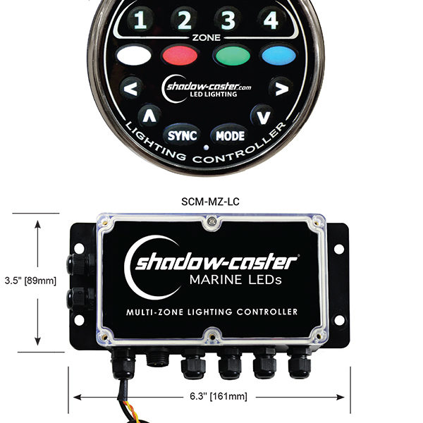 Shadow-Caster Zone Controller LED Light Controller Kit