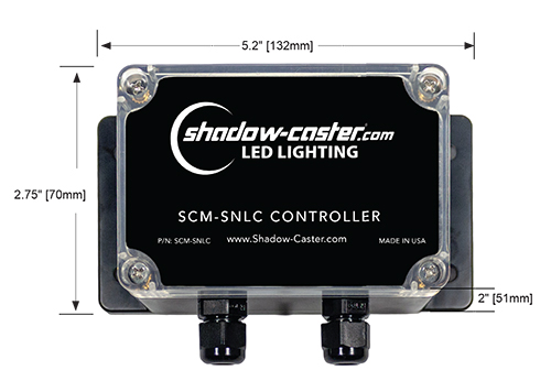 Shadow-Caster Single Zone Lighting Controller Boat LED Light Yacht Light