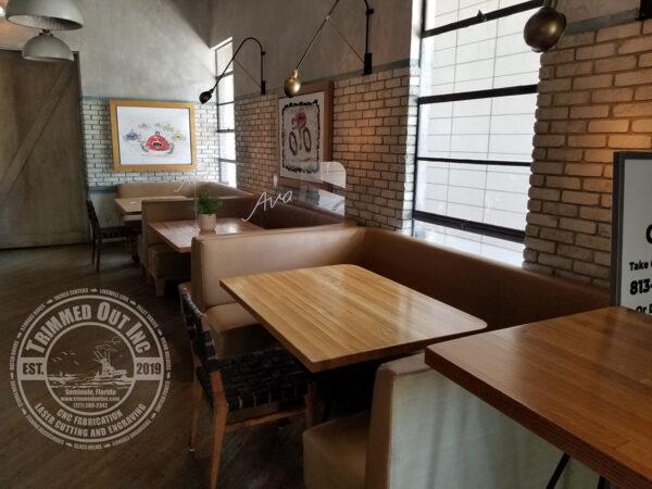 Covid Coronavirus Sneeze Guard Booth Divider Restaurant