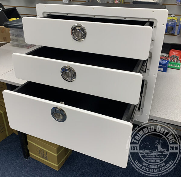 Tackle Center Three Drawers