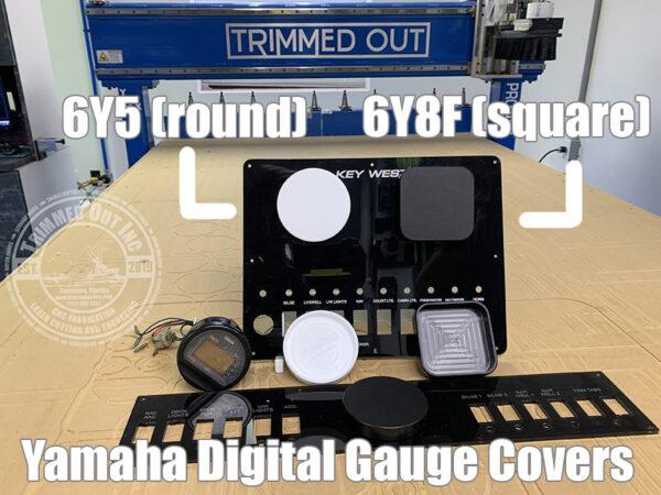 Yamaha 6Y8F Digital Gauge Cover