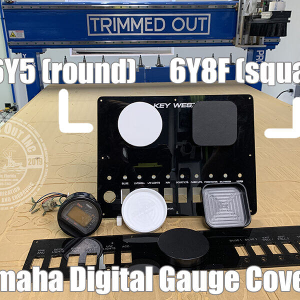 Yamaha 6Y8F Digital Gauge Cover