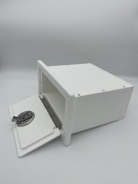 "Starboard Glove Box 6"" x 10.5"" x 8d"""