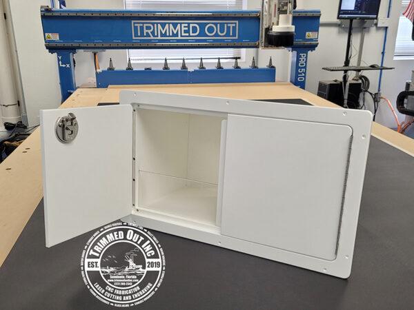 French-Open door Storage Box Starboard